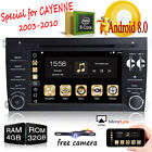 Android 8.0 Car DVD Player For Poesche Cayenne 2003-2010 Stereo GPS Navigation