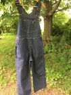 Vintagw Sears Men's 34x28 Denim Overalss Oants Jeans