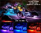 18 Color Led Wireless Remote Ridley Motorcycle 20pc Motorcycle Led Light Kit