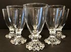 Vintage Set Of 6 Anchor Hocking Candlewick Boopie 4 Oz Juice Glasses