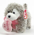 Ty SNOOKUMS Valentines Beanie Babies Dog with Tags