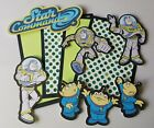 Disney inspired Buzz lightyear scrapbook page set photo mats and die cuts set