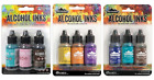 Tim Holtz Adirondack Alcohol Inks by Ranger 3 packages 9 Colors Total New