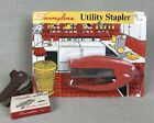 SWINGLINE Orange Vintage Utility Stapler Cub Plier 49P/C-UTIL Staples Bundle