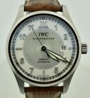 IWC Spitfire Pilot Mark XVI 3255 Stainless Steel Silver Dial 39mm Box