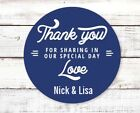 Sharing Our Special Day Round Personalized Bridal Wedding Shower Sticker Labels