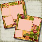 TROPICAL 2 Premade Scrapbook Pages EZ Layout 3200