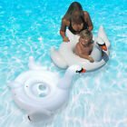 Swimline Swan Baby Seat Swimming Pool Inflatable Float 2 Pack