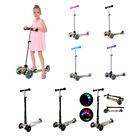 Deluxe 3 Wheel MAXI Scooter for 3 17 Age Adjustable Handlebars  Light Up Wheels