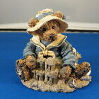 Boyds Bears and Friends 1993 Collection Wilson at the Beach - sand castle shells