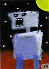 it was an angry little thing hiding deep inside his own shadow e9Art ACEO Art