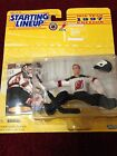 1997 Starting Lineup NHL Hockey Martin Brodeur Figurine and Collector Card