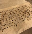 's Original Paper Document Manuscript Antique Old