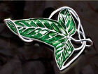 HOT Fashio LOTR Lord Of The Rings's leaf Brooch Pin 18inch Chain Necklace Pendan
