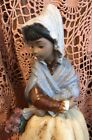 Lladro 3505 Fiesta, Country Girl Retired No Box! Mint Condition! Gres L@@K!