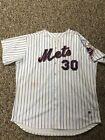 Cliff Floyd 2005 New York Mets Game Used Signed Home Jersey Steiner Beckett