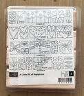 Stampin Up A Little Bit of Happiness Stamp Set Floers Hearts Dragonfly Love