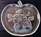 SNACK APPLE PLATES CUPS HAZEL ATLAS APPLE BLOSSOM ORCHARD  4 SETS