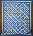 White Jacobs Ladder QUILT TOP 95x83
