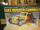 Lindberg Fiat Dragster/Cabriolet, 1/12 Scale No. 73043