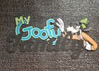 Disney page title My Goofy family printed scrapbook page die cut title