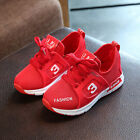 Toddler Red Children Soft Sport Running Shoes Sneaker Baby Mesh Shoes US10