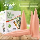 Plant Waterer Self Watering Spikes Automatic Vacation Devices Terracotta Wine 4