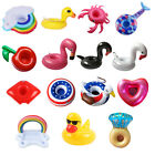 Inflatable Float Cup Drink Holders Swimming Pool Supplies Summer Party toy