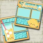 LEMONADE 2 Premade Scrapbook Pages EZ Layout 3210