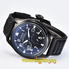Pilot 47MM Parnis Seagull 2530 Power Reserve Automatic Movement  Date Watch