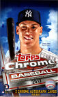 2017 Topps Chrome Sealed Hobby Box 2 Autographs Per Box FREE SHIPPING