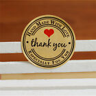 12 60 120pcs Thank You Hand Made with Love Especially for You Stickers Label VN