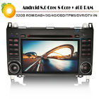 "7"" GPS Android 8.0 DAB+Autoradio MP3 DVD CD Sat Navi für Mercedes A-Class W169"