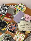 Huge Fabric Remnant Lot Over 100 Pieces Mostly Cotton Quilting Craft 10 Lb