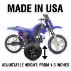ADJUSTABLE PW50 KIDS YOUTH TRAINING WHEELS ONLY - YAMAHA peewee motorcycle