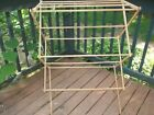 Vintage Wood Wooden Clothes Drying Rack Madison Mills No 8