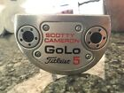 Scotty Cameron GOLO 5 34 LH left handed Putter USED see pics
