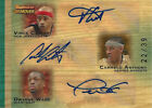 2007-08 Topps Vince Carter Dwyane Wade Carmelo Anthony AUTO #22 39 IN THE PAINT
