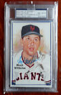 Hoyt Wilhelm 2012 HA Art of Baseball Auto New York Giants 23 27 PSA DNA 8