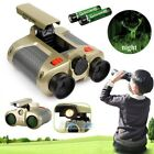 Night Vision Surveillance Scope Binoculars Telescope Pop Up Light Xmas Gift Kids