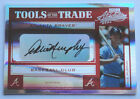 Dale Murphy 2004 Absolute Memorabilia Tools of the Trade Signature Red Auto 25