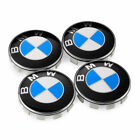 Bmw Car Emblem Chrome Front Badge Logo 82 74 68 Mm For Bmw Hoodtrunk Hub Cap