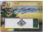 2013 Panini Limited Football Eddie Lacy Rookie Patch Jersey Auto 08 25
