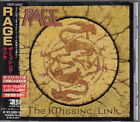 RAGE / THE MISSING LINK JAPAN CD OOP W/OBI +1B/T
