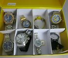 As is Lot of 8 Invicta watches
