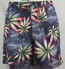 Nautica hawaiian Swim Trunks Swim Short multi-color with floral,palm,weater XL
