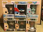 Funko Pop! Random Lot Of 6 Rick and Morty, Smurfs, Jetsons, Rugrats