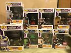 Funko POP! Guardians Of The Galaxy Lot Of 8 w Exclusive