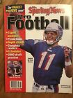 Sporting News 1999 Pro Football Series 5 Yearbook Drew Bledsoe new England Pats