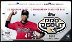 2018 Topps Pro Debut Minor League Baseball Cards Factory Sealed Hobby Box